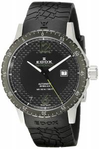 [エドックス]Edox  Chronorally 1 Analog Display Swiss Automatic Black Watch 80094 3N NV