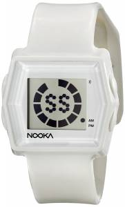 [ヌーカ]NOOKA 腕時計 Digital Display Quartz White Watch ZUBZIBIZIRCGL ユニセックス
