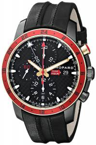 [ショパール]Chopard  Miglia Zagato Analog Display Swiss Automatic Black Watch 168550-6001 LBK