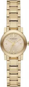 [バーバリー]BURBERRY 腕時計 The City Champagne Dial Goldtone Watch BU9227 [並行輸入品]