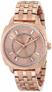 [ジューシークチュール]Juicy Couture  Beau Analog Display Quartz Rose Gold Watch 1901176