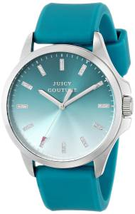 [ジューシークチュール]Juicy Couture Jetsetter Stainless Steel Watch with Teal 1901166