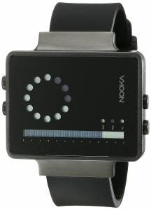[ヌーカ]NOOKA 腕時計 Digital Display Quartz Black Watch ZIRCVNT ユニセックス