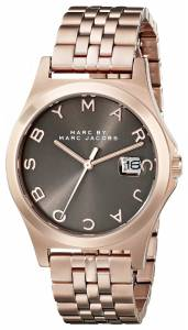 [マーク ジェイコブス]Marc by Marc Jacobs Rose GoldTone Stainless Steel Bracelet MBM3350