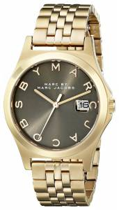 [マーク ジェイコブス]Marc by Marc Jacobs  GoldTone Stainless Steel Bracelet Watch MBM3349
