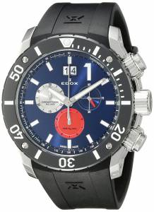 [エドックス]Edox  Chronoffshore Analog Display Swiss Quartz Black Watch 10020 3 BUIN3