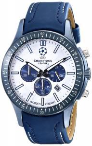 [ジャックルマン]Jacques Lemans UEFA Champions League Analog Display Quartz Blue Watch U-43A