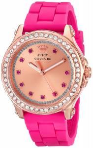 [ジューシークチュール]Juicy Couture Pedigree Rose GoldTone Watch with Silicone 1901190