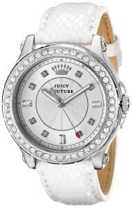 [ジューシークチュール]Juicy Couture Pedigree CrystalAccented Stainless Steel Watch 1901202