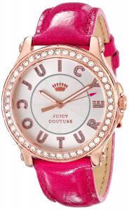 [ジューシークチュール]Juicy Couture Pedigree GoldTone Watch with Pink Leather 1901204