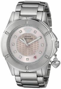 [ジューシークチュール]Juicy Couture Rich Analog Display Quartz Silver Watch 1901199