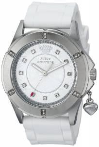 [ジューシークチュール]Juicy Couture Rich Analog Display Quartz White Watch 1901195 1901195