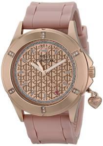 [ジューシークチュール]Juicy Couture Rich Analog Display Quartz Pink Watch 1901198 1901198