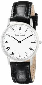 [クロードベルナール]claude bernard Classic Slim Line Analog Display Swiss Quartz 20060 3 BR