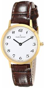 [クロードベルナール]claude bernard Classic Slim Line Analog Display Swiss 20059 37J BB