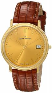 [クロードベルナール]claude bernard Classic Gents Analog Display Swiss Quartz 70149 37J DI