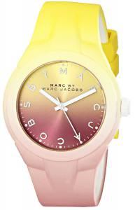 [マーク ジェイコブス]Marc by Marc Jacobs  Degrade Plastic Watch with TwoTone Band MBM5540