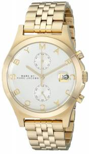 [マーク ジェイコブス]Marc by Marc Jacobs  GoldTone Stainless Steel Bracelet Watch MBM3379