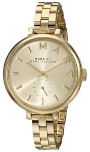 [マーク ジェイコブス]Marc by Marc Jacobs Sally GoldTone Stainless Steel Watch with MBM3363