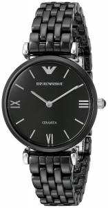 [エンポリオアルマーニ]Emporio Armani Ceramica Analog Display Analog Quartz Black AR1487