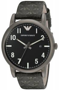 [エンポリオアルマーニ]Emporio Armani Classic Analog Display Analog Quartz Black AR1834