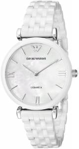 [エンポリオアルマーニ]Emporio Armani Ceramica Analog Display Analog Quartz White AR1485