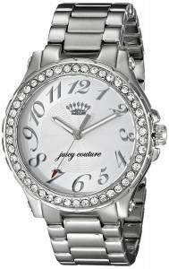 [ジューシークチュール]Juicy Couture  Pedigree Analog Display Quartz Silver Watch 1901231
