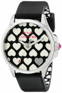 [ジューシークチュール]Juicy Couture  Jetsetter Analog Display Quartz Black Watch 1901220