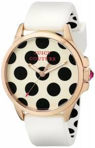 [ジューシークチュール]Juicy Couture  Jetsetter Analog Display Quartz White Watch 1901223