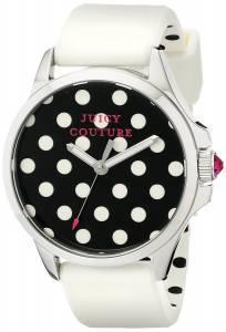 [ジューシークチュール]Juicy Couture  Jetsetter Analog Display Quartz White Watch 1901221