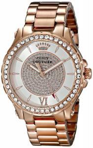 [ジューシークチュール]Juicy Couture Pedigree Analog Display Quartz Rose Gold Watch 1901233