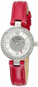 [ジューシークチュール]Juicy Couture Luxe Couture CrystalAccented Stainless Steel 1901247