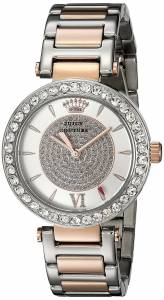 [ジューシークチュール]Juicy Couture Luxe Couture Analog Display Quartz Two Tone 1901230