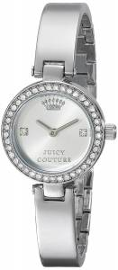 [ジューシークチュール]Juicy Couture  Luxe Couture SilverTone Watch 1901235