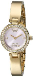 [ジューシークチュール]Juicy Couture  Luxe Couture GoldTone Watch 1901227 レディース