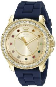 [ジューシークチュール]Juicy Couture  Pedigree Analog Display Quartz Blue Watch 1901239