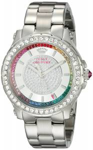 [ジューシークチュール]Juicy Couture  Pedigree Analog Display Quartz Silver Watch 1901237