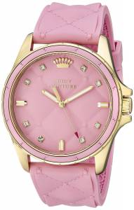 [ジューシークチュール]Juicy Couture  Stella Analog Display Quartz Pink Watch 1901244