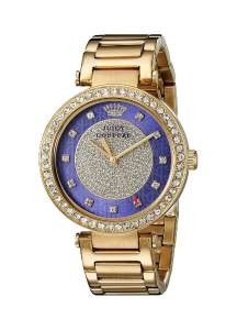 [ジューシークチュール]Juicy Couture Luxe Couture Analog Display Quartz Gold Watch 1901267