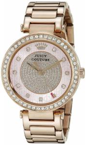 [ジューシークチュール]Juicy Couture Luxe Couture Analog Display Quartz Rose Gold 1901268