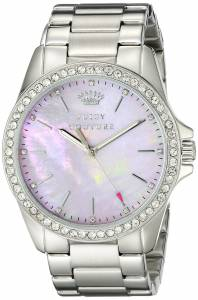 [ジューシークチュール]Juicy Couture  Stella Analog Display Quartz Silver Watch 1901263