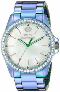 [ジューシークチュール]Juicy Couture  Stella CrystalAccented Purple Watch 1901269