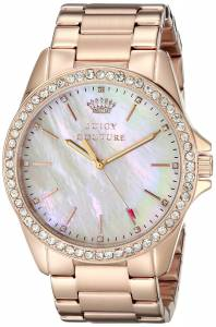 [ジューシークチュール]Juicy Couture Stella Analog Display Quartz Rose Gold Watch 1901262