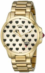[ジューシークチュール]Juicy Couture  Jetsetter Analog Display Quartz Gold Watch 1901252