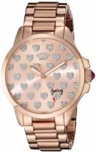 [ジューシークチュール]Juicy Couture Jetsetter Analog Display Quartz Rose Gold 1901253