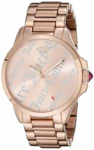 [ジューシークチュール]Juicy Couture Jetsetter Analog Display Quartz Rose Gold 1901278