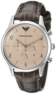 [エンポリオアルマーニ]Emporio Armani Classic Analog Display Analog Quartz Brown AR1878