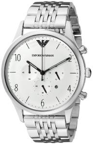 [エンポリオアルマーニ]Emporio Armani Classic Analog Display Analog Quartz Silver AR1879