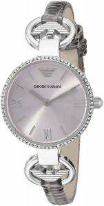 [エンポリオアルマーニ]Emporio Armani Classic CrystalAccented Stainless Steel Watch AR1884