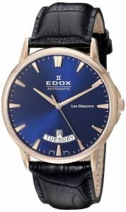 [エドックス]Edox  Les Bemonts Analog Display Swiss Automatic Blue Watch 83015 37R BUIR